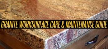 granite worktop care